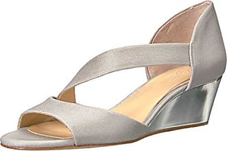 Imagine Vince Camuto Womens JEFRE Wedge Sandal Platinum 5 Medium US