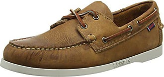 Chaussures Sebago Blanc Docksides Bateau Homme EU 42 Brun Brun Bqq5rwp