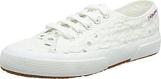 d1936ef1d42dea Superga Damen 2750 EMBROIDERYCOTTONW Sneaker Weiß (White 901) 37.5 EU