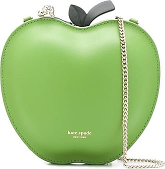 Kate Spade New York Bolsa transversal Picnic Apple com estampa de logo - Verde