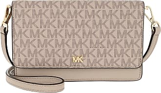 Michael Kors Cross Body Bags - Mott Phone Crossbody Truffle - beige - Cross Body Bags for ladies