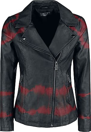 d94e5f191dc Black Premium by EMP All Over The Road - Veste en imitation cuir - pour  dames