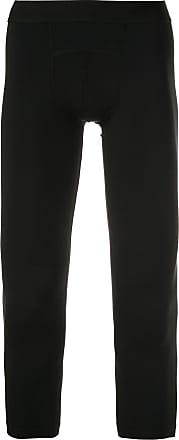 Wardrobe.NYC Legging com logo - Preto