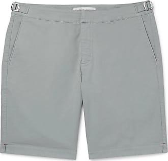 Orlebar Brown Dane Cotton-twill Shorts - Light blue