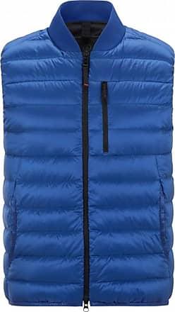 Bogner Fire + Ice Abraham Lightweight down vest for Men - Azure blue