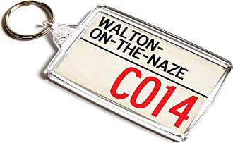 ILoveGifts KEYRING - Walton-on-the-Naze CO14 - UK Postcode Place Gift