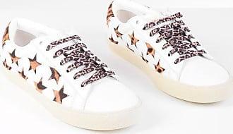 Saint Laurent Sneakers con Stelle in Cavallino Maculato taglia 35,5