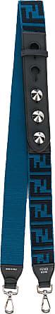 Fendi Alça para bolsa com logo - Azul