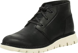 CAT Sidcup Mens Leather Material Boots Black - 11 UK