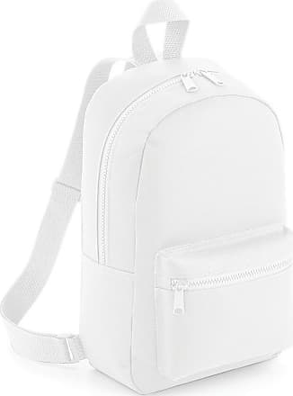 BagBase Bagbase Mini Essential Backpack/Rucksack Bag (One Size) (White)