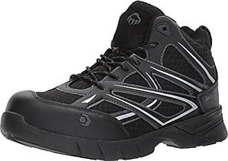 Wolverine Mens Jetstream Mid Athletic Composite Toe Work Shoe, Black, 8 M US