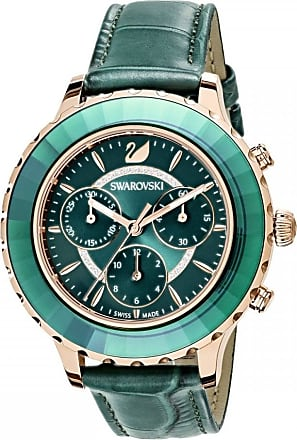 Acotis Limited Swarovski Emerald Octea Lux Chrono Watch 5452498