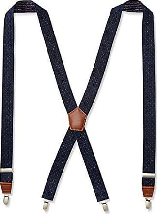 Dockers Mens 1.25 Dobby X-back Poly Stretch Suspender,Navy,One Size
