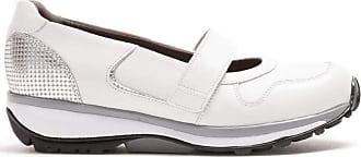 Xsensible Monaco White/Malibu Silver (White) - Womens Shoes Comfortable Ballet Flats / Slippers White White Size: 8 UK