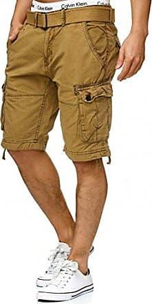 Damen Short Rüschen Shorts Kurzhose Hosenrock Sommer Leinenhose Hosen Bermuda