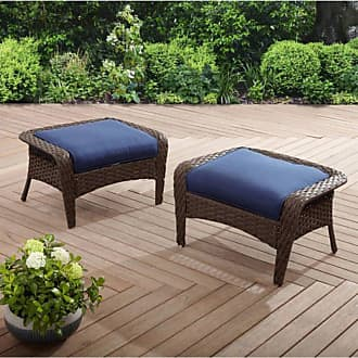Better Homes & Gardens Colebrook Outdoor Ottomans - Set of 2 Red - FA14EC95813B425EAE413F50B25FF538