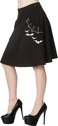 Banned Apparel Batting Eyelids Skater Skirt XL