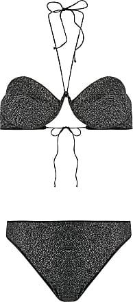 Oséree Biquíni com aplicação - Preto