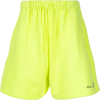 We11done logo track shorts - Yellow