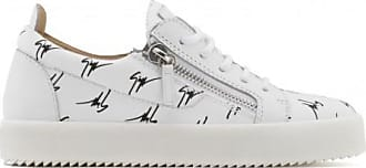 Giuseppe Zanotti Fabric low-top sneaker with Signature motif THE SIGNATURE
