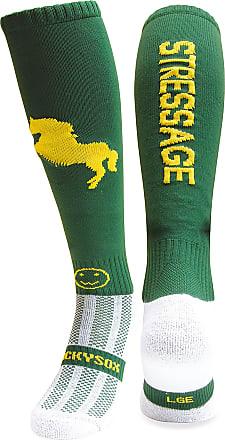 Wackysox Stressage Dark Green Equestrian Riding Socks