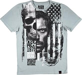 AES 1975 Camiseta AES 1975 Skull Face