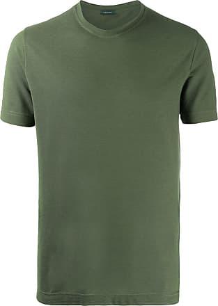 Zanone Camiseta de jérsei com stretch - Verde