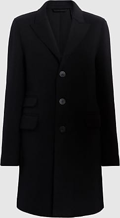 Neil Barrett Raw Cut Doubleface Wool Mens Crombie