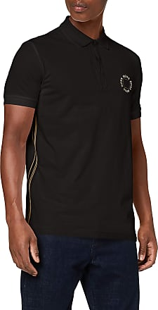 BOSS Mens Paddy 8 Polo Shirt, Grey (Charcoal 12), Medium