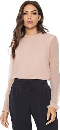 Vero Moda Blusa Vero Moda Pregas Rosa