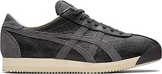 Onitsuka Tiger Unisex-Adult Tiger Corsair Shoes, 8.5 UK, Dark Grey/Dark Grey