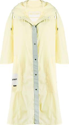Yves Salomon - Army Impermeabile con cappuccio - Di colore giallo