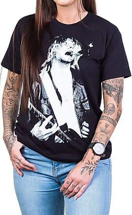 Bandalheira Camiseta Nirvana Curt Cobain 100% Algodão