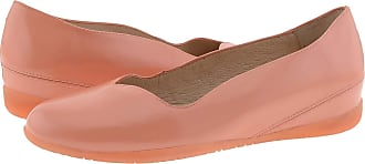 Wonders A-1103 Leather Ballet Flats Padded Insole Size: 7 Color: Pink