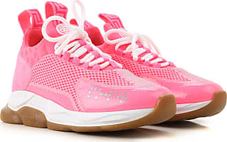 Versace Sneakers for Women On Sale, Fluo Pink, Neoprene, 2017, 10 11 5 6 6.5 7 8 8.5 9