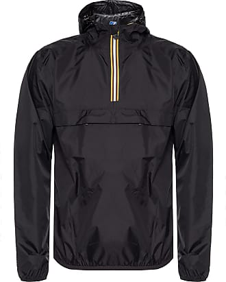 K-Way Le Vrai 3.0 Leon Branded Jacket Mens Black