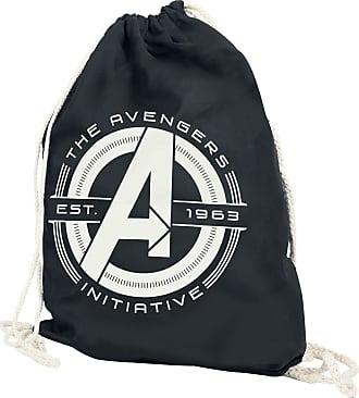 a5e878c668390 Avengers Initative - Turnbeutel - schwarz - EMP Exklusiv
