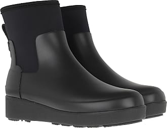 Hunter Boots & Booties - Refined Creeper Neo Chelsea Boots Black - black - Boots & Booties for ladies