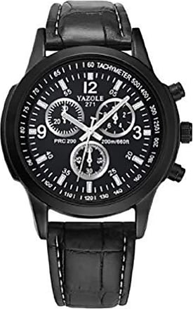 Yazole Relógios de pulso Pulseira de Couro YAZOLE W 271 (6)