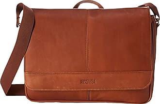 Kenneth Cole Reaction Risky Business Single Gusset Messenger Bag (Cognac) Messenger Bags