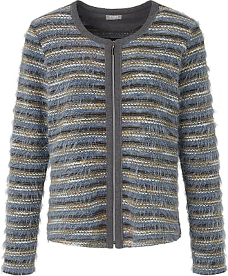 Rabe Cardigan knitted textures Rabe multicoloured