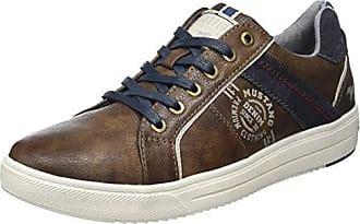 Sneaker in Kastanienbraun Herrenschuhe *Übergröße* Mustang 4138-304-301