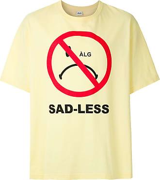 À La Garçonne T-shirt oversized Smiley - Amarelo