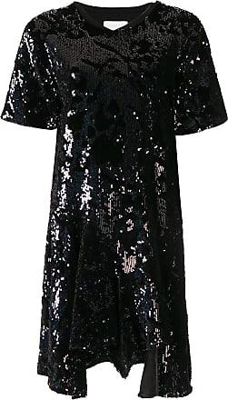 Koché sequin embroidered dress - Preto