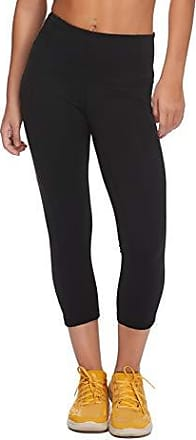 Body Glove Active Womens Work IT Performance FIT Activewear Capri Pant, Black, Small