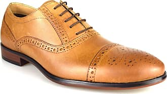 Redtape Hartwell Mens Tan Leather Formal Lace-Up Wedding Shoes