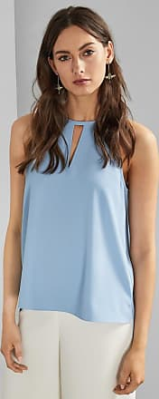 Ted Baker Halterneck Top in Light Blue DIPPA, Womens Clothing