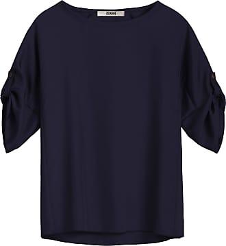 Zenggi Blau Seidig H04 1001 521 Top - s