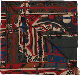 Etro Patterned Scarf Mens Multicolour
