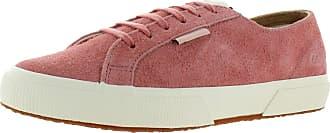 Superga Mens 2750 Suede Low Top Sneakers Pink US 7.5 Medium (D)